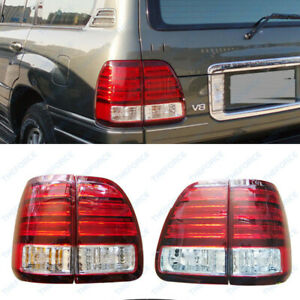 1998 02 Year Led Left Right Led Tail Lights Suit For Lexus Lx470 Rear Lamps