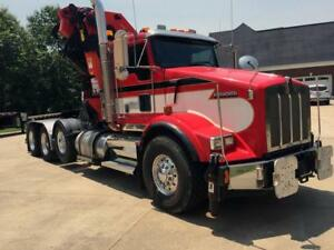 Ultimate Tree Service Truck 2008 Kenworth W 105 Palfinger