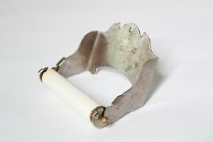 Antique Toilet Paper Holder Brasscrafters Bath Vtg Victorian Tp Holder Deco