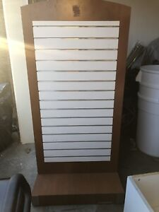Large Rolling Display Cases
