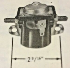 60 61 62 Plymouth Starter Solenoid Equivalent To Ss578 Us Made
