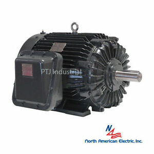 20 Hp Explosion Proof Electric Motor 256t 3 Phase 1800 Rpm Hazardous Location