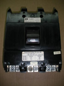 Federal Pacific Njj231400 Molded Case Circuit Breaker 400a 240v 3 Pole