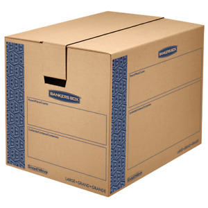 12 Pack Large Smoothmove Bankers Box 00629 0062901 Moving Boxes