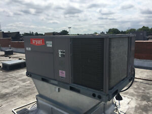 Bryant 580j 5 Ton Rooftop Heating cooling Unit 2013 Model