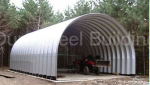 Durospan Steel 20x40x14 Metal Building as Seen On Tv Open Ends Factory Direct