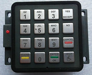 Gilbarco M08228b003 Epp Keypad white Label Used Working