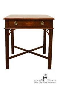 Wellington Hall Mahogany 22 Lamp End Table