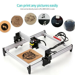 500mw Desktop Diy Laser Engraving Machine Cnc With Protective Glasses W3j7