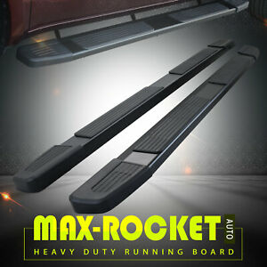 For 09 14 Ford F150 Super Crew Cab 6 Side Step Running Boards Nerf Bar Black S
