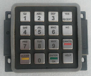 Gilbarco M10661b001 Epp Keypad blue Label Used Working