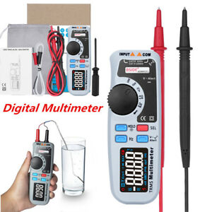 Portable 6000 Count True Rms Handheld Clamp Multimeter Ebtn Screen Ac dc V a