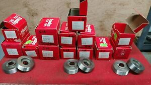 Lot Of 14 Sets Reed rico Astro Punch Thread Roller Threading Dies Salvo Reedrico