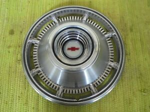 1966 Chevrolet Hubcap 14 Chevy Wheel Cover Hub Cap 66