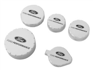 2015 2020 Mustang Ford Performance M 6766 M50a Billet Aluminum Engine Caps Set