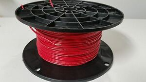 25 Ft Ul1007 20 Awg Red Hook Up Lead Primary Wire Tinned Stranded 300v