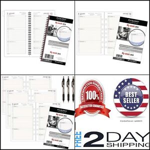 At a glance Day Runner Weekly Planner Refill Loose Leaf Size 2 Or 4 Best Seller