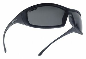 Bolle Safety Solis Scratch resistant Polarized Safety Glasses Gray Lens Color