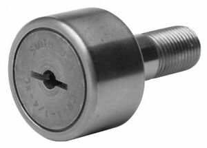 Smith Bearing 0 6250 Roller Dia Crowned Stud Cam Follower screwdriver Slot