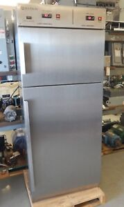 Skytron Ss2207 j2 Dual Compartment Stainless Steel Warming Cabinet Used