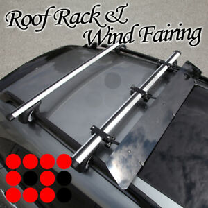 Fit Bmw Rail Tower Rooftop Rack 48 Cross Bars Luggage Carrier wind Fairing