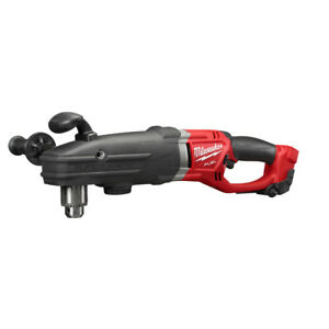 Milwaukee 2709 20 M18 Fuel Super Hawg 1 2 Right Angle Drill tool Only