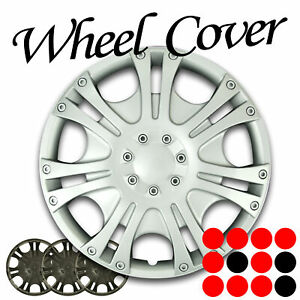 Buick 14 Inch Wheel Cover 7 Spoke Hub Cap Chrome Lugs Rim Skin Hubcap 4pcs