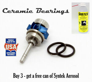 New Midwest Dental Tradition Lever Turbines Ceramic Bearings 3 pack