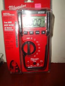 Brand New Milwaukee Digital Multimeter True Rms 2216 20