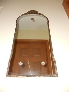 Vintage Antique Victorian Ornate Wall Mirror
