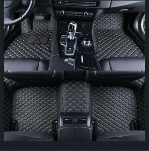 Car Floor Mats Mercedes benz W204 W205 C200 C300 C350 C63 Amg Custom Knitting