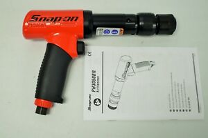 Snap On Ph3050br Pneumatic Long Barrel Super Duty Air Hammer Red 2500 Bpm