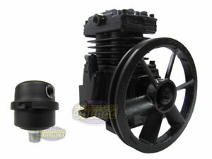 Schulz Industrial Single Stage Cast Iron Air Compressor Pump 2 Or 3 Hp Mls 10max