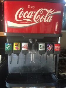 Coke Soda Fountain System Conveyor Oven Slush Machine And Ice Machine