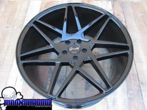 22 Gianelle Giovanna Parma Gloss Black 22x9 22x10 5 5x114 3 Lexus Wheels Rims