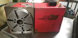 Haas Hrt 210 4th Axis Rotary Table 17 Pin Brush See Video