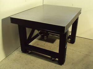 Tested Tmc New Focus Optical Table Newport Isolation Bench Casters