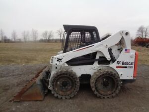 2012 Bobcat S650 Skid Steer Orops High Flow Airboss Tires Only 92 Hours
