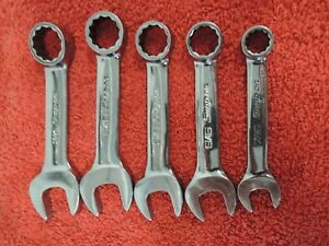 Snap On Standard 7 16 3 4 Stubby Combination Wrench Lot