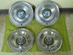 1964 Ford Galaxie Hub Caps 14 Set Of 4 Wheel Covers 64 Hubcaps