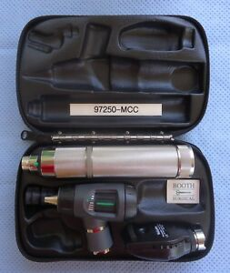 Welch Allyn Diagnostic Set 97250 mcc Macroview Otoscope coaxial Ophthalmoscope