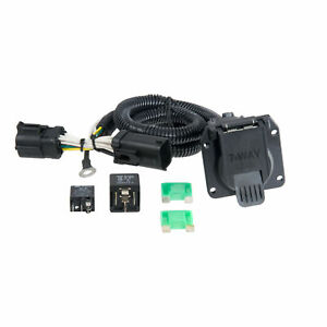 55242 Curt Manufacturing Trailer Wiring T Connector With 7 way Flat For F 150