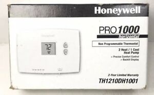Honeywell Th1210dh1001 Pro 1000 Horizontal Non programmable Thermostats