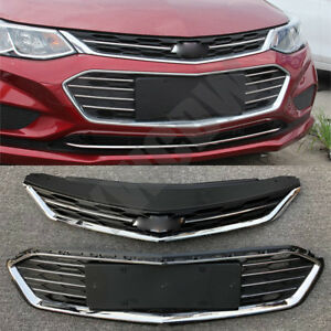 Front Bumper Parts Fit Chevrolet Cruze 2016 To 2018 Upper middle Grille Grilles
