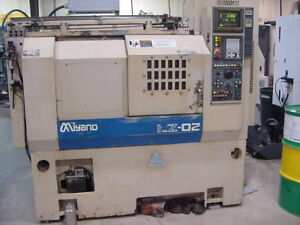 Miyano Lz 02 Cnc Lathe W fanuc 21 t Control video Available