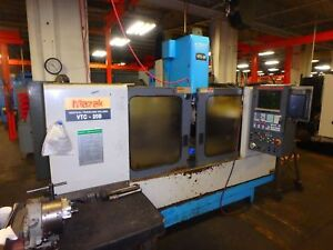 Mazak Vtc 20b Cnc Vertical Machining Center Vmc