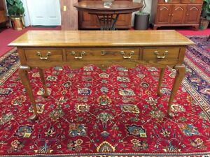 Pennsylvania House Oak Sofa Table Vintage Hall Table Delivery Available
