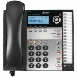 At t 1040 4 line Small Business System Compatible 1070 1080 Corded Phone