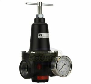 New 1 5 1 1 2 Inline Compressed Air Compressor Line High Flow Regulator Valve