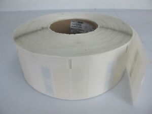 Roll Of 1000 Rfid Label Stickers White clear 3 x1 7 8